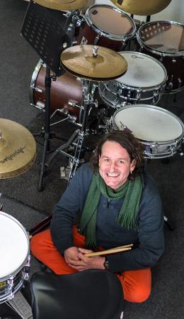 Andreas Vogt, Schlagzeuger